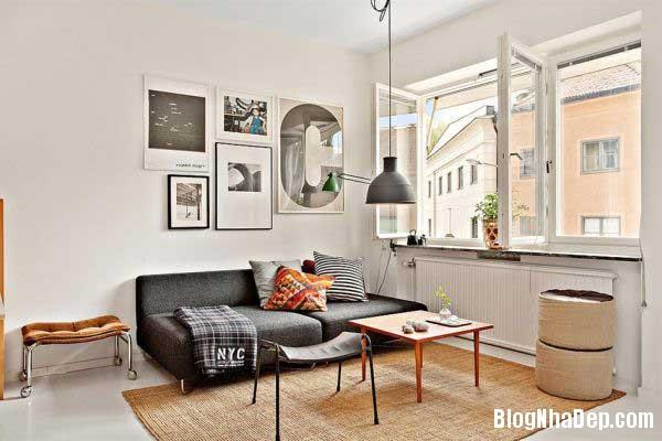 can ho cao cap 35m1 Thiết kế nội thất ấn tượng cho căn hộ 35 m2