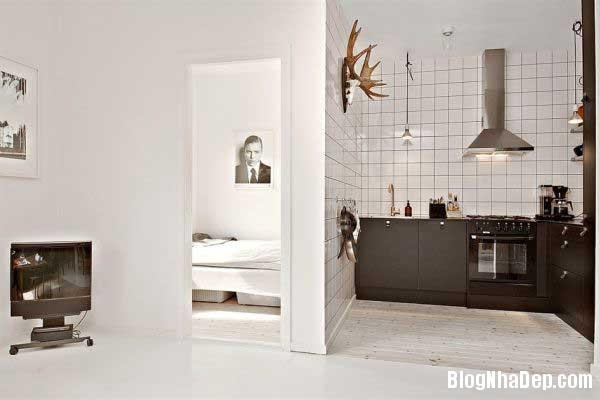 can ho cao cap 35m3 Thiết kế nội thất ấn tượng cho căn hộ 35 m2
