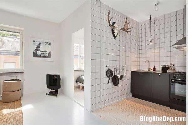 can ho cao cap 35m5 Thiết kế nội thất ấn tượng cho căn hộ 35 m2