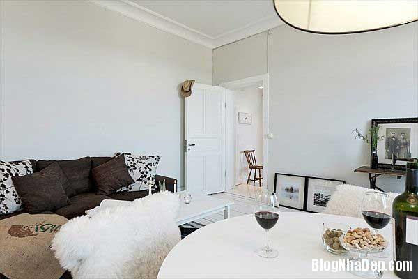 can ho cao cap 45m22 Sắp xếp không gian hợp lý trong ngôi nhà nhỏ