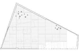 cay trong nha8 Ngôi nhà ôm lấy thân cây