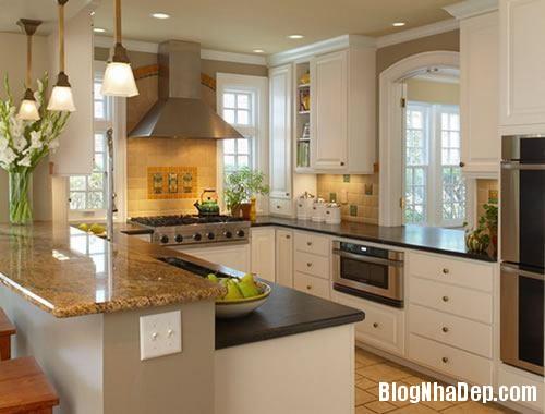 cf4b4  tu bep don mau dep 1 Màu sắc sinh động cho không gian nhà bếp