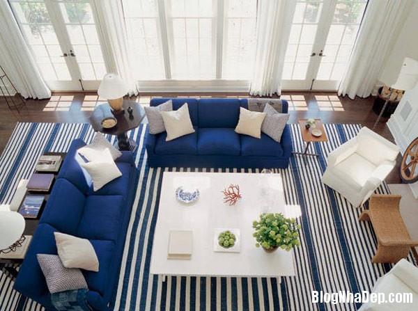 decorating stripes 01 lgn Trang trí nội thất nhà bằng họa tiết kẻ sọc
