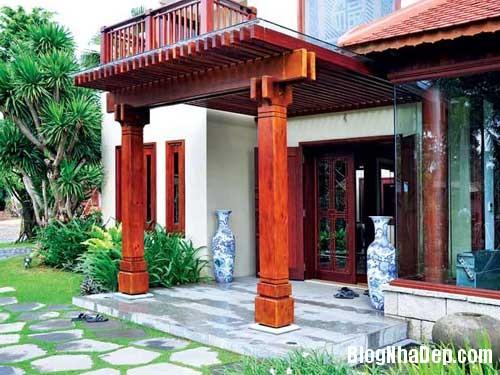 do go noi that 3 Ngôi nhà ấm cúng với nội thất gỗ