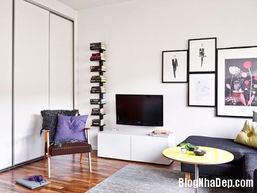 file.314980 Bài trí nội thất khéo léo cho căn hộ nhỏ