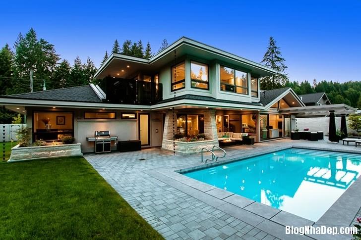 file.318851 Ngôi nhà theo phong cách đương đại tại Phía Tây Vancouver, Canada