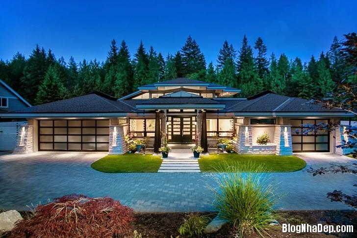 file.318852 Ngôi nhà theo phong cách đương đại tại Phía Tây Vancouver, Canada