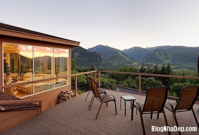 file.319141 Nhà kính sang trọng nằm trên một ngọn núi ở thành phố Aspen, Colorado