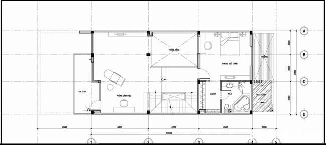 file.322223 Căn nhà rộng hơn nhờ liên kết các không gian