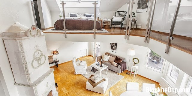 file.324142 Phân chia không gian khéo léo trong căn hộ duplex 81m2