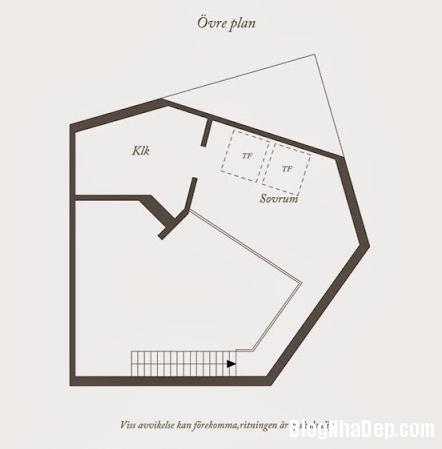 file.324178 Phân chia không gian khéo léo trong căn hộ duplex 81m2