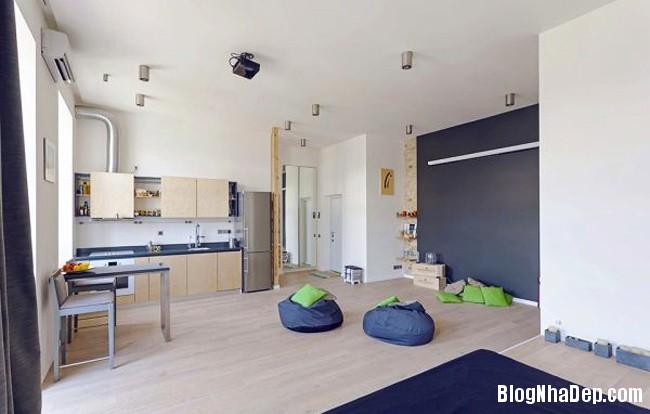 file.326905 Căn hộ studio 58m2 với thiết kế nội thất đầy sáng tạo