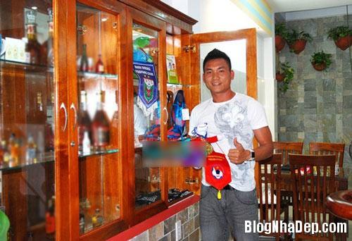 file.331878 Ngôi nhà 4 tầng nằm ở ngoại ô TPHCM của cầu thủ Huỳnh Phú