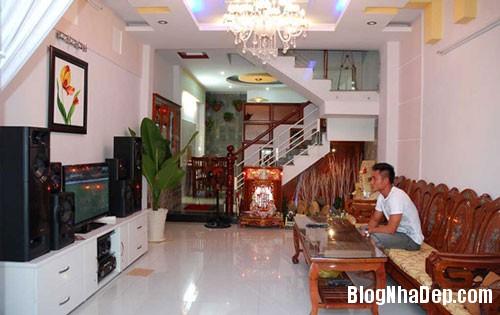 file.331881 Ngôi nhà 4 tầng nằm ở ngoại ô TPHCM của cầu thủ Huỳnh Phú