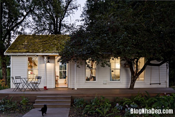 file.331925 Ngôi nhà màu trắng xinh xắn của giám đốc công ty thiết kế