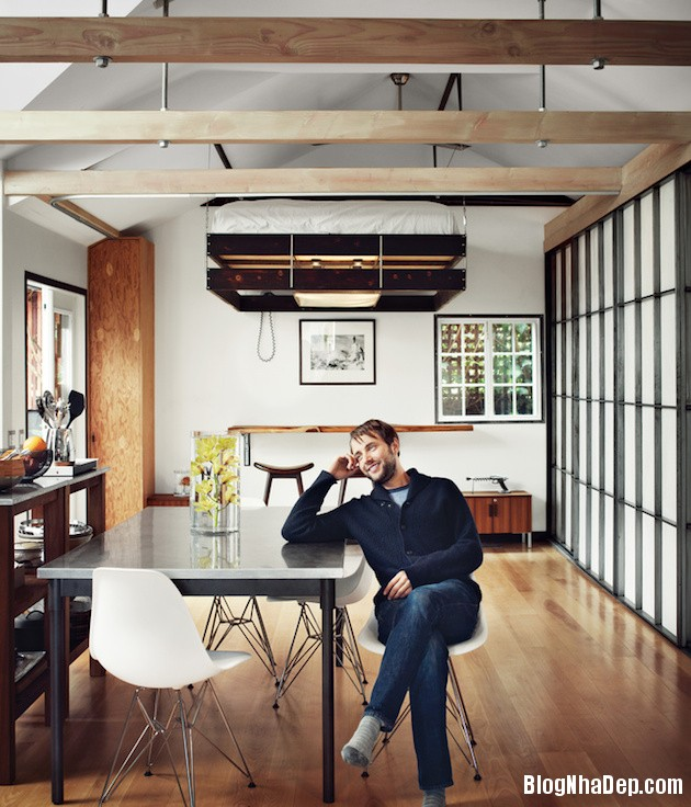 file.333160 Ngôi nhà nhỏ xinh đầy cá tính của nam diễn viên người Mỹ Vincent Kartheiser