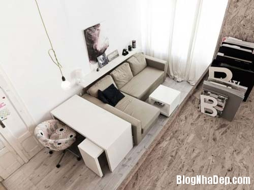 file.335330 Thiết kế cho căn hộ có diện tích nhỏ