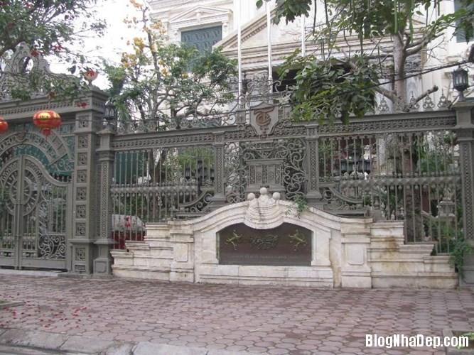 file.362762 Những chiếc cổng biệt thự sang trọng tại Hà Nội