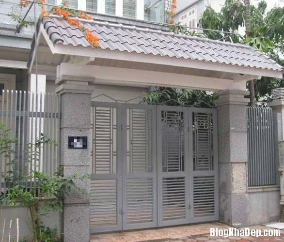 file.362765 Những chiếc cổng biệt thự sang trọng tại Hà Nội