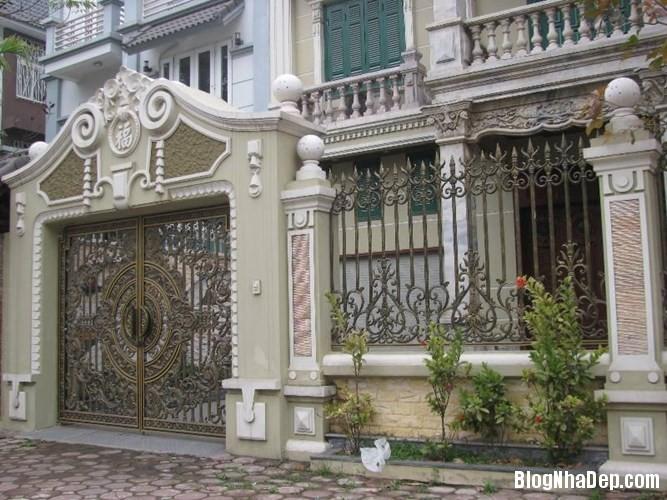 file.362769 Những chiếc cổng biệt thự sang trọng tại Hà Nội