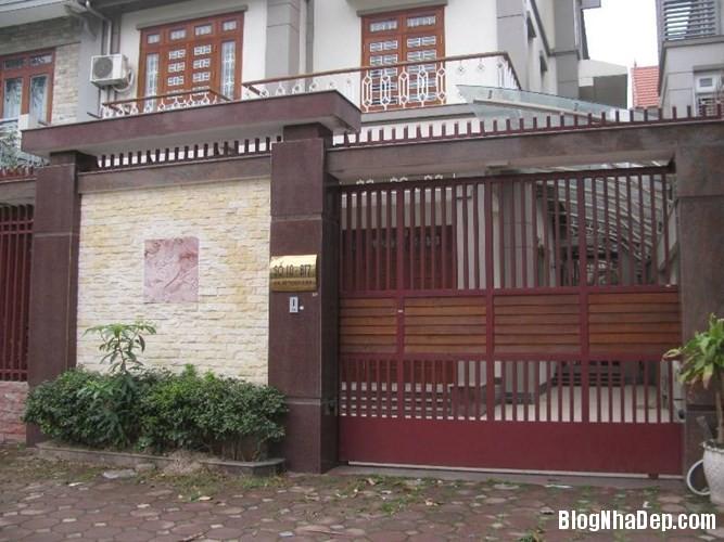 file.362770 Những chiếc cổng biệt thự sang trọng tại Hà Nội