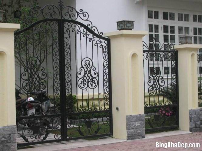 file.362772 Những chiếc cổng biệt thự sang trọng tại Hà Nội