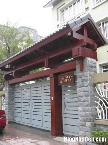 file.362773 Những chiếc cổng biệt thự sang trọng tại Hà Nội