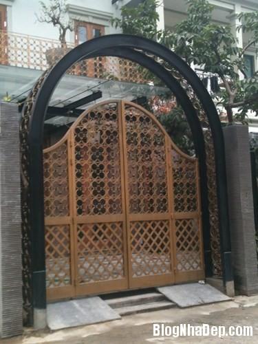 file.362774 Những chiếc cổng biệt thự sang trọng tại Hà Nội