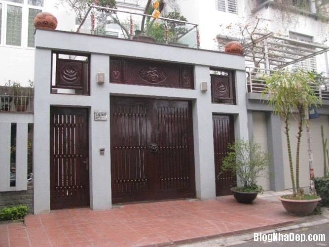 file.362778 Những chiếc cổng biệt thự sang trọng tại Hà Nội