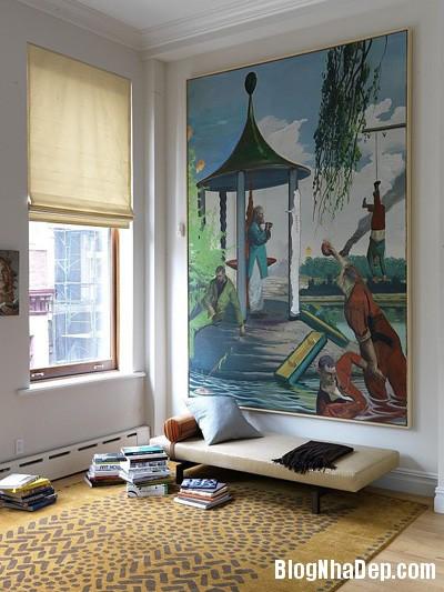 file.390225 Bài trí tranh ảnh trong phòng khách tạo ấn tượng