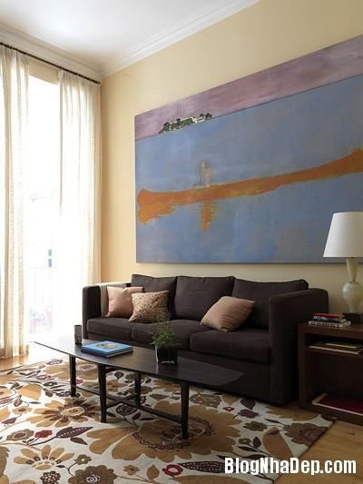 file.390227 Bài trí tranh ảnh trong phòng khách tạo ấn tượng