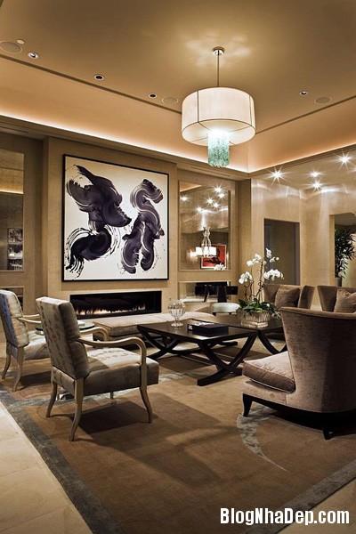 file.390233 Bài trí tranh ảnh trong phòng khách tạo ấn tượng