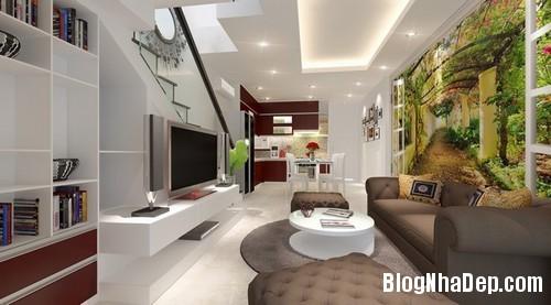 file.393888 Thiết kế nội thất phòng khách biến tấu đầy sáng tạo