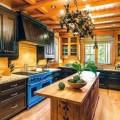 Bài trí phòng bếp tuyệt đẹp cho nhà gỗ