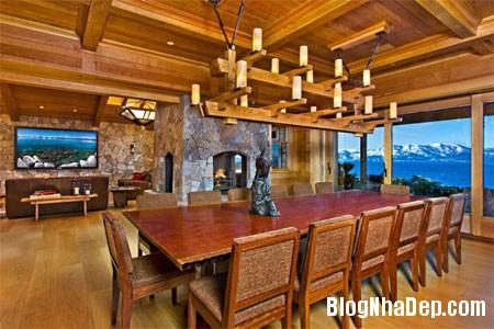 file55 Biệt thự gỗ ven hồ Tahoe của tỷ phú Larry Ellison