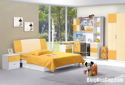 file78 Trang trí phòng ngủ phù hợp với tính cách của trẻ