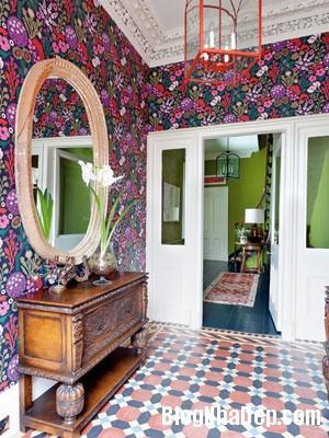 file 00227 Ngôi nhà xinh đẹp nhìn ra khu vườn thơ mộng tại  Edinburgh