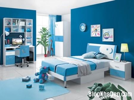 file 00716 Hạ nhiệt cho không gian sống bằng tone màu xanh dương