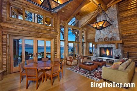file 00857 Biệt thự gỗ ven hồ Tahoe của tỷ phú Larry Ellison