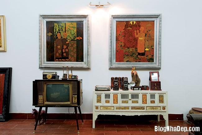 file 01047 Không gian sống có hồn và sinh động của vợ chồng họa sĩ Quang Minh