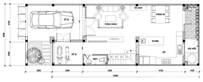 file 01232 Căn nhà đơn giản dễ thương và nữ tính nơi góc phố