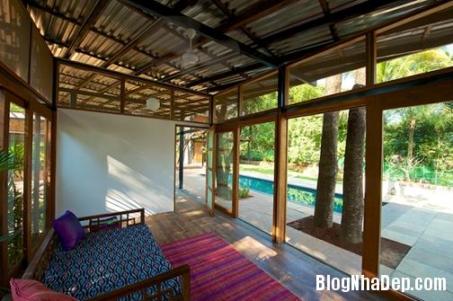 file 014 Ngôi nhà đầy phong cách với nội thất đá thô tại  Ấn Độ