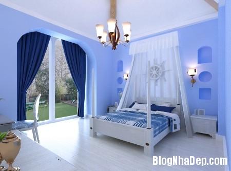 file 01810 Hạ nhiệt cho không gian sống bằng tone màu xanh dương