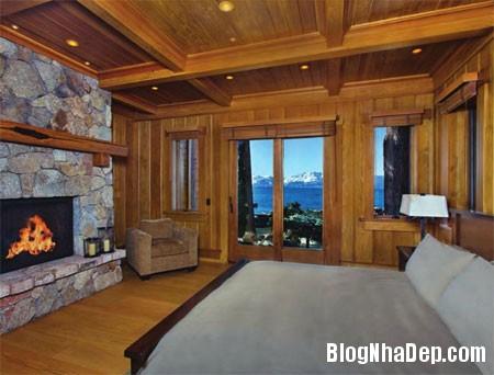 file 0234 Biệt thự gỗ ven hồ Tahoe của tỷ phú Larry Ellison