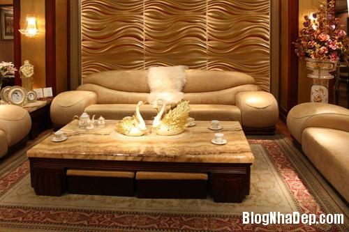 gach op dep 20144 Mẫu nội thất đẹp với tấm ốp tường 3D công nghệ Hàn Quốc