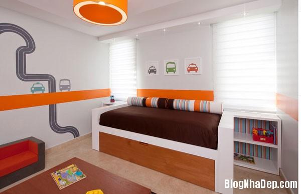 giuong ngu 1 1398780649 Những mẫu giường ngủ độc đáo, đáng yêu cho trẻ