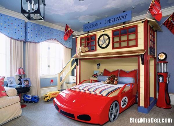 giuong ngu 12 1398780772 Những mẫu giường ngủ độc đáo, đáng yêu cho trẻ