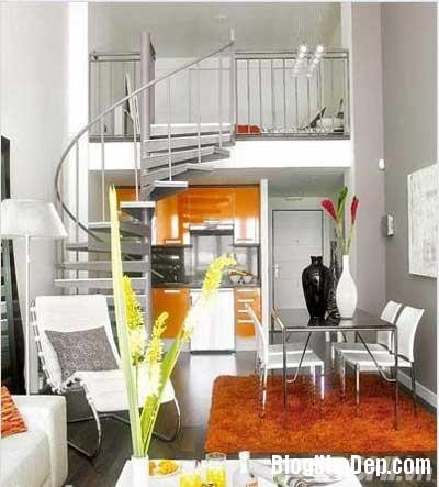 khong gian dep 12 Bố trí không gian sống tiện nghi trong căn hộ nhỏ