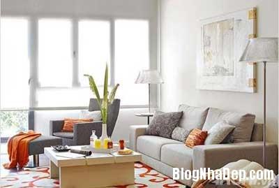 khong gian dep 2 Bố trí không gian sống tiện nghi trong căn hộ nhỏ