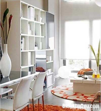 khong gian dep 3 Bố trí không gian sống tiện nghi trong căn hộ nhỏ